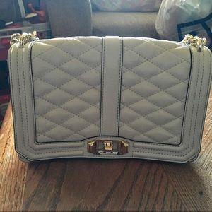 Rebecca Minkoff Small White Love Crossbody Bag
